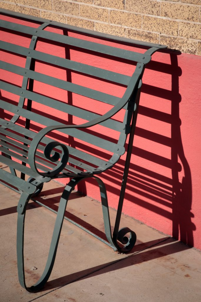 เก้าอี้สาธารณะ 1-4 ที่นั่ง สีดํา