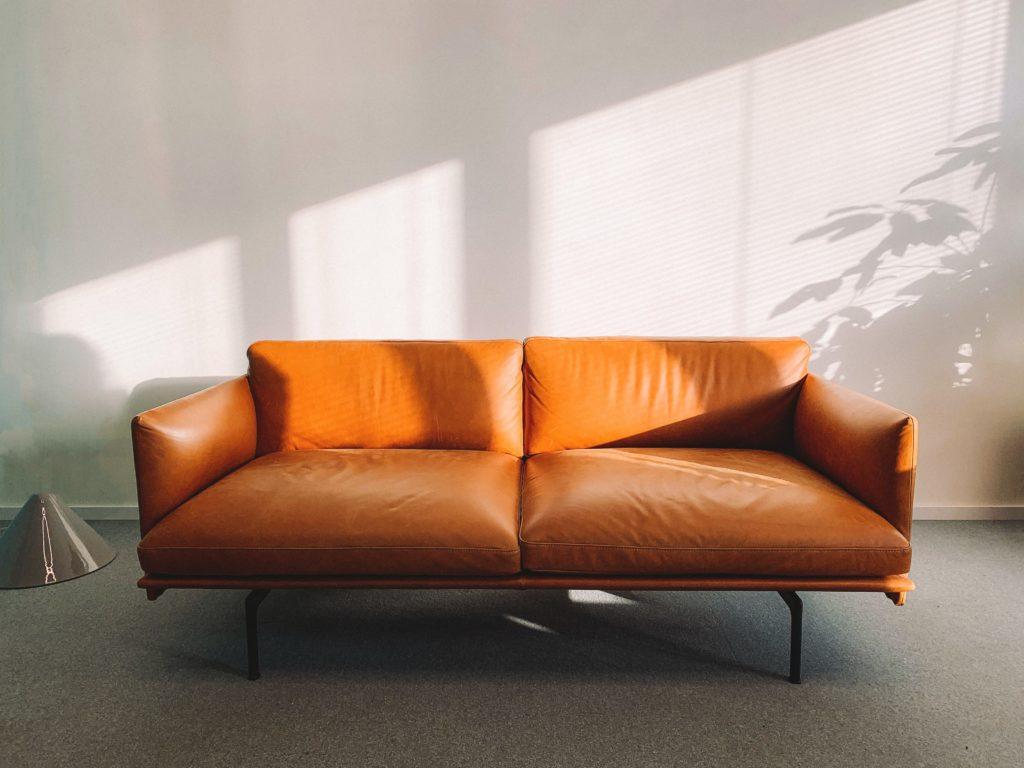 โซฟา 1-4 ที่นั่ง สีส้ม